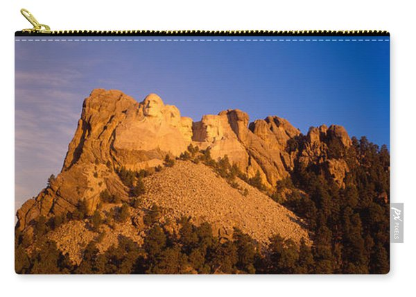 Low Angle View Of A Monument, Mt Carry-all Pouch