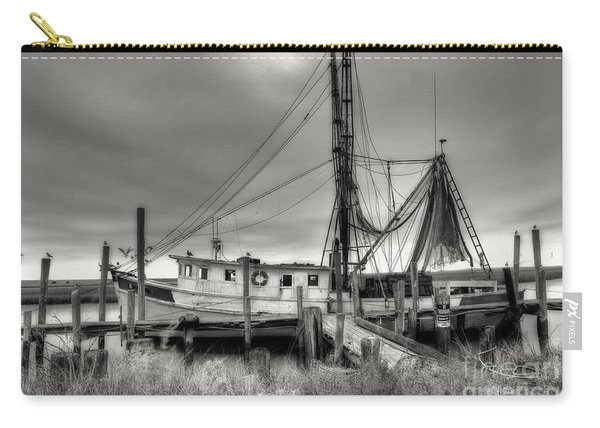 Lowcountry Shrimp Boat Carry-all Pouch