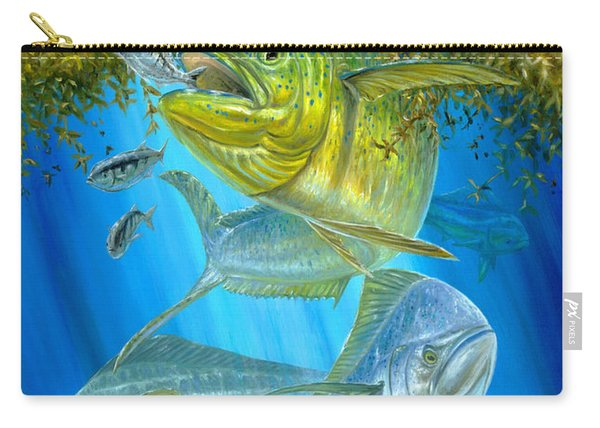 Mahi Mahi Hunting In Sargassum Carry-all Pouch