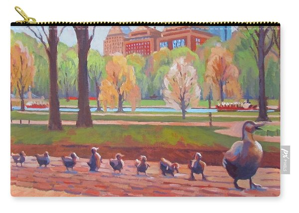 Make Way For Ducklings Carry-all Pouch