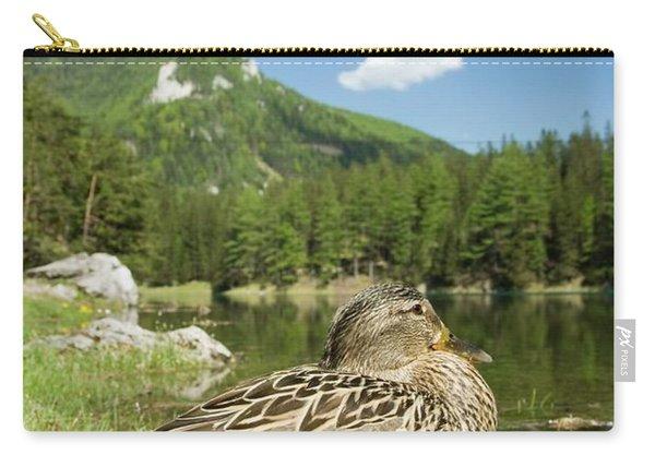 Mallard Duck Anas Platyrhynchos Carry-all Pouch