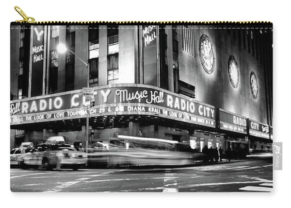Manhattan, Radio City Music Hall, Nyc Carry-all Pouch