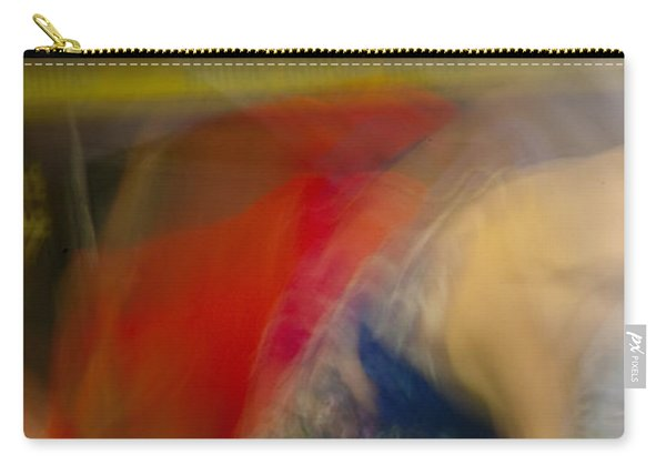 Carry-all Pouch featuring the photograph Mideastern Dancing by Catherine Sobredo