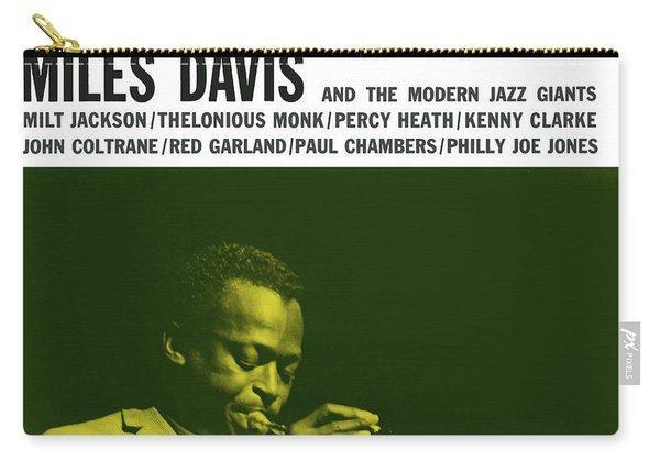 Miles Davis -  Miles Davis And The Modern Jazz Giants (prestige 7150) Carry-all Pouch