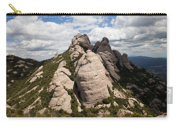 Montserrat Mountain In Spain Carry-all Pouch