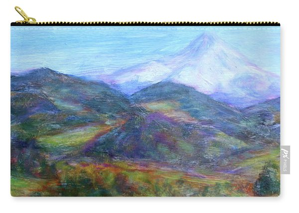 Mountain Patchwork Carry-all Pouch