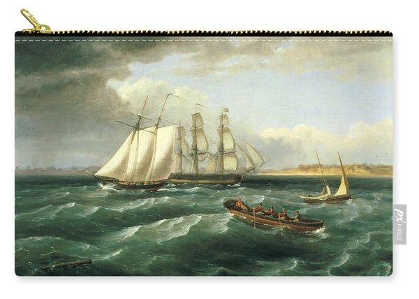 Mouth Of The Delaware Carry-all Pouch