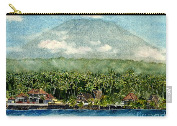 Mt. Agung Bali Indonesia Carry-all Pouch