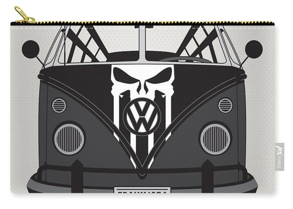 My Superhero-vw-t1-punisher Carry-all Pouch