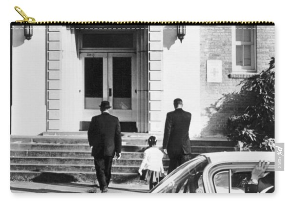 New Orleans School Integration Carry-all Pouch
