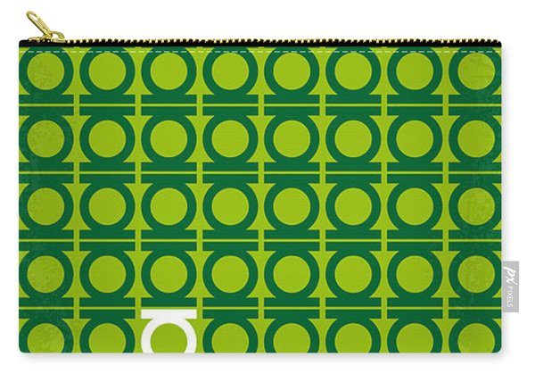 No120 My Green Lantern Minimal Movie Poster Carry-all Pouch