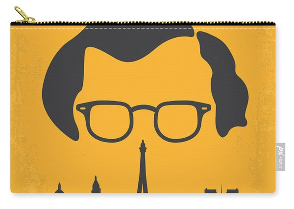 No312 My Manhattan Minimal Movie Poster Carry-all Pouch