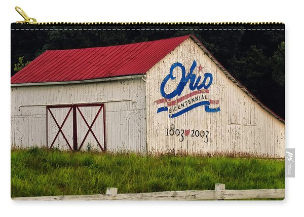 Ohio Bicentennial Barn Carry-all Pouch