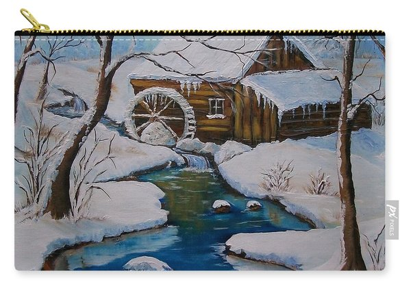 Old Grist Mill  Carry-all Pouch
