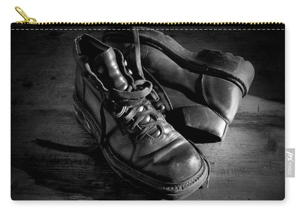 Old Leather Shoes Carry-all Pouch