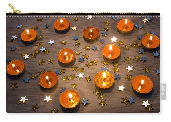 Orange Candles Carry-all Pouch