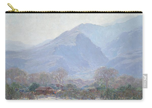 Palm Springs Landscape With Shack Carry-all Pouch