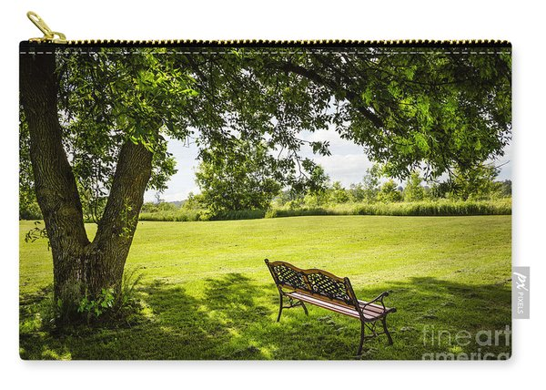 Park Bench Under Tree Carry-all Pouch
