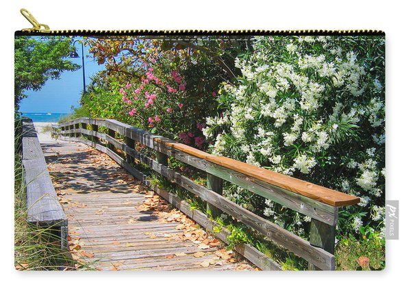 Pathway To Beach Carry-all Pouch