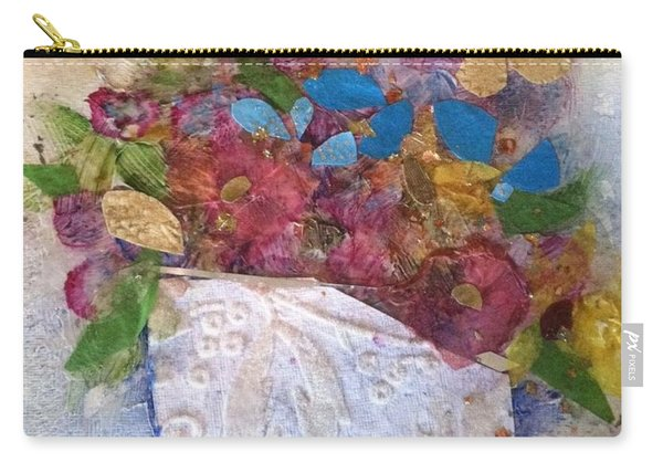 Petals And Blooms Carry-all Pouch