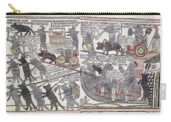 Peter The Great Cartoon Carry-all Pouch