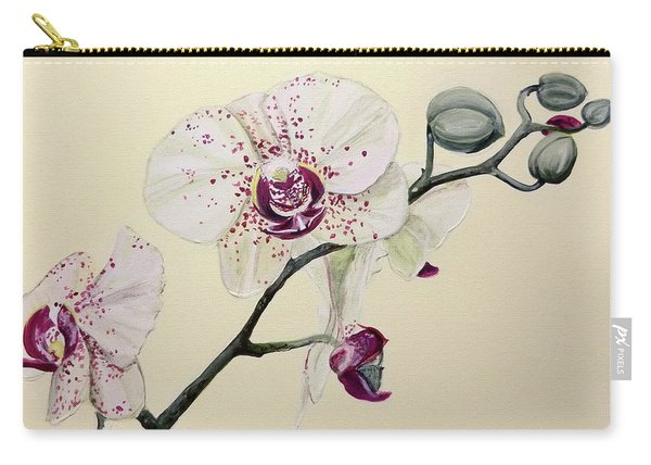 Phalaenopsis Black Panther Orchid Carry-all Pouch