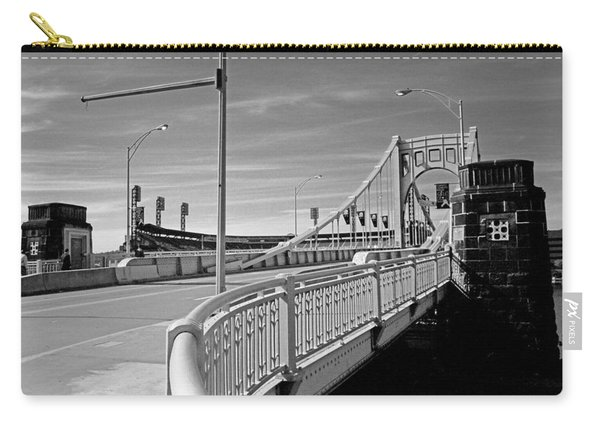 Pittsburgh - Roberto Clemente Bridge Carry-all Pouch