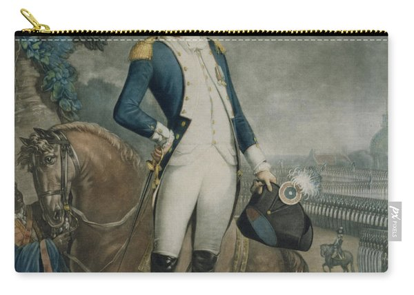 Portrait Of The Marquis De La Fayette Carry-all Pouch