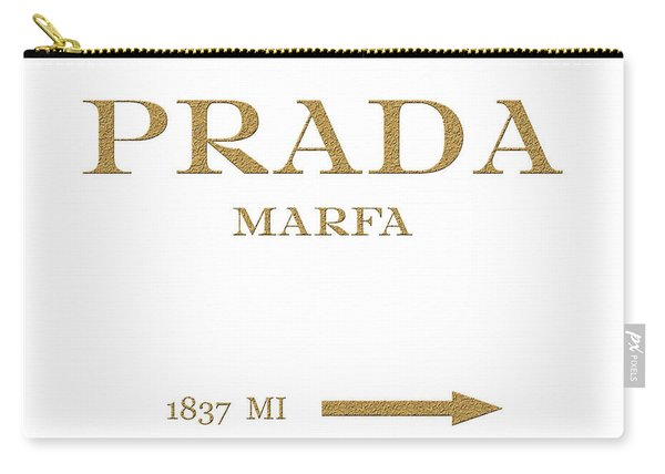Prada Marfa Mileage Distance Carry-all Pouch