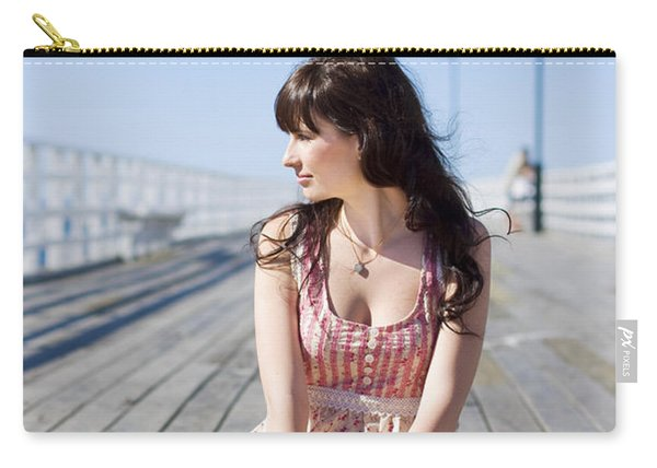 Pretty Pier Woman Carry-all Pouch