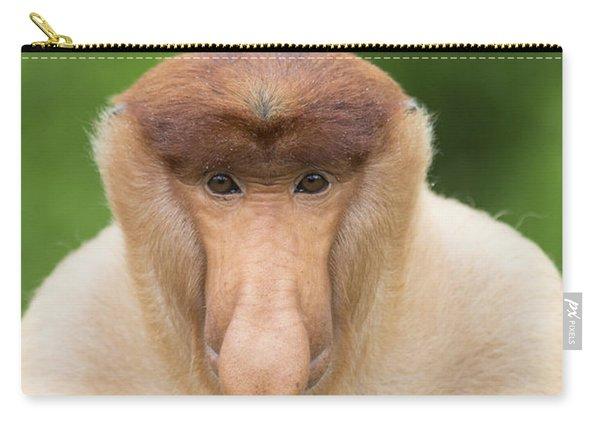 Proboscis Monkey Dominant Male Sabah Carry-all Pouch