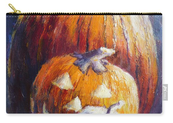 Pumpkin Happy Face Carry-all Pouch