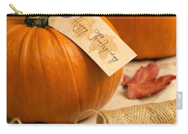 Pumpkins For Thanksgiving Carry-all Pouch