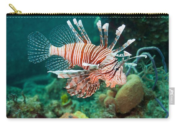 Red Lionfish Carry-all Pouch