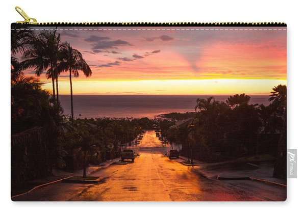 Sunset After Rain Carry-all Pouch