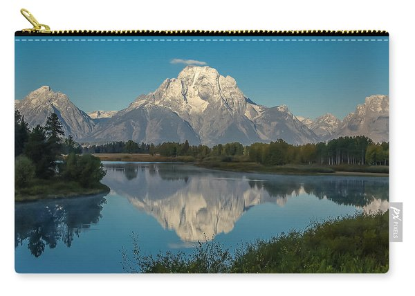 Reflections Of Mount Moran Carry-all Pouch