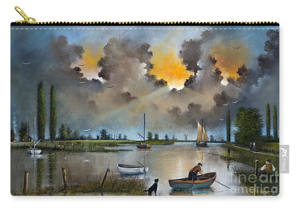 River Yare On The Broads Carry-all Pouch