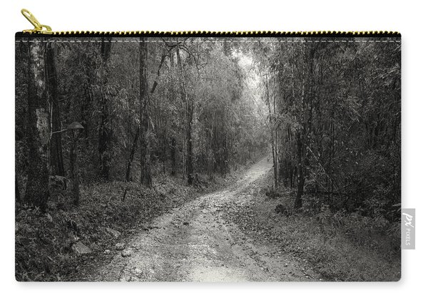 Road Way In Deep Forest Carry-all Pouch