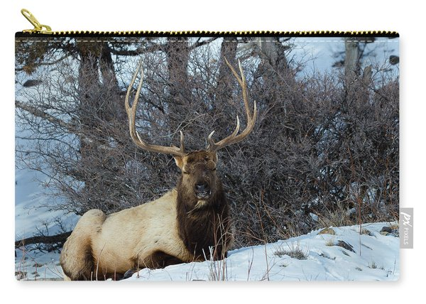Rocky Mountain Elk Carry-all Pouch