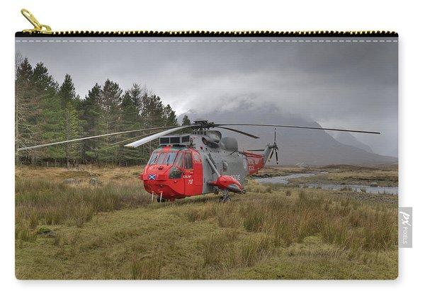 Royal Navy Sar Sea King Xz920 Glencoe Carry-all Pouch