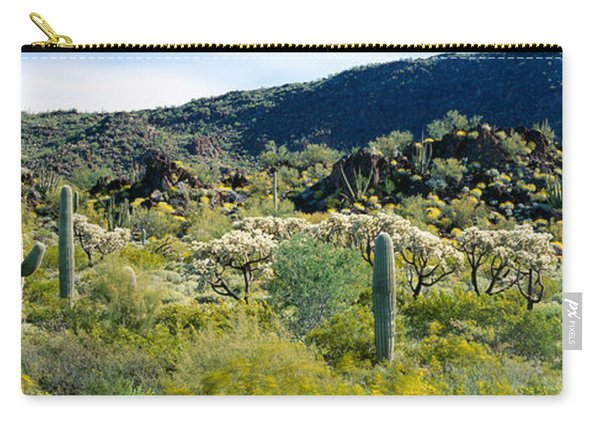Saguaro Cactus Carnegiea Gigantea Carry-all Pouch