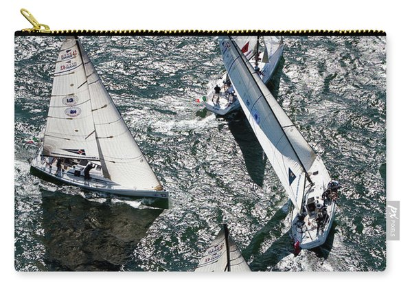 Sailboats In Swan Nyyc Invitational Carry-all Pouch