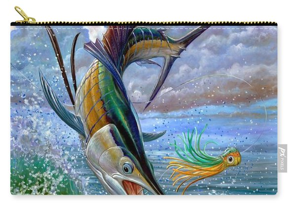 Sailfish And Lure Carry-all Pouch