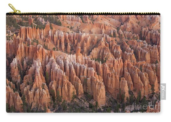 Sandstone Hoodoos In Bryce Canyon  Carry-all Pouch