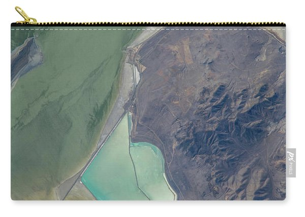 Satellite View Of Salt Evaporation Carry-all Pouch