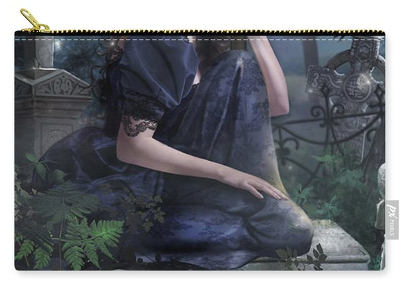 Silent Whispers Carry-all Pouch