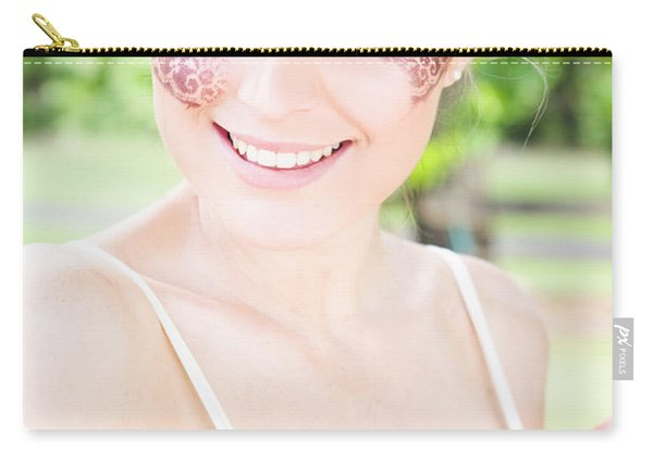 Smiling Ballerina Carry-all Pouch