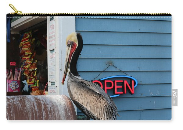 Carry-all Pouch featuring the photograph Snack Time  by Christy Pooschke