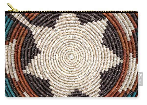 Southwestern Basket Detail Carry-all Pouch
