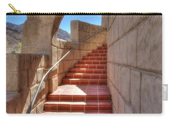 Spanish Steps Carry-all Pouch